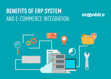 Benefits of ERP system and e-commerce integration