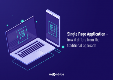 Single Page Application – how it differs from the traditional approach