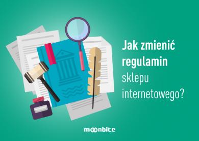 Jak zmienić regulamin sklepu internetowego?