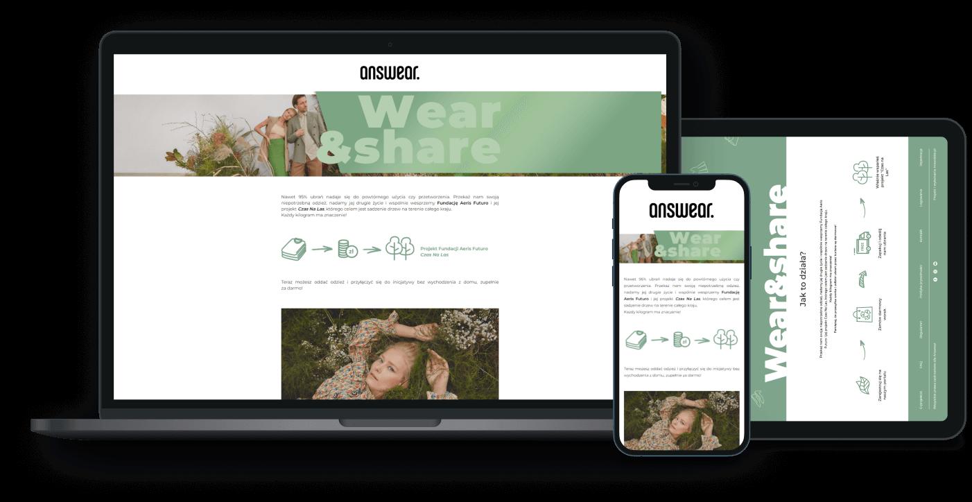ANSWEAR Wear&Share