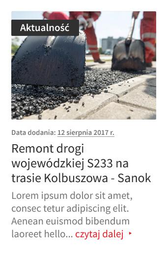Podkarpacki Zarząd Dróg Wojewódzkich